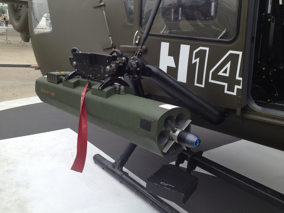 "FZ | Forges de Zeebrugge – Rocket system 70mm (2.75"") : Airbus Helicopters choose Thales to integrate Laser Guided Rockets on H145M helicopters"