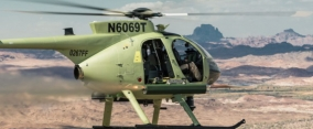 "FZ | Thales Belgium SA – Rockets 70mm (2.75"") : McDonnell Douglas Helicopters relies on Thales' lightweight rocket launchers for its global customers"