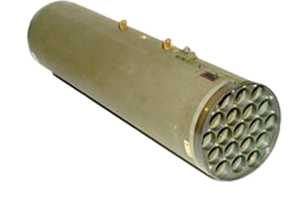 "FZ | Forges de Zeebrugge  – Rocket system 70mm (2.75"") : 19-tube metallic rocket launchers for rotary wings : M159"